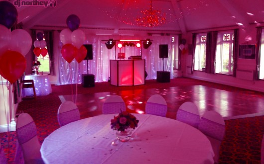 DJ Northey Plymouth Wedding Set - Up